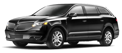 Black 2013 Lincoln MKT Town car SUV