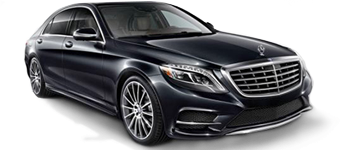 Black 2015 Mercedes Benz s550 on display